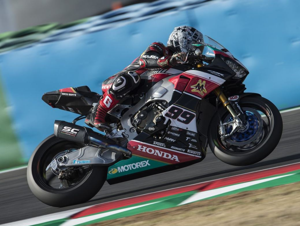 worldsbk honda oct 2018